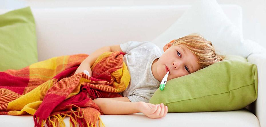 7 درمان آنفولانزا برای کودکان در خانه