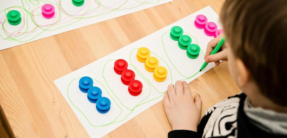 فعالیتهای جالب بازی با ریاضی برای کودکان 3 ساله